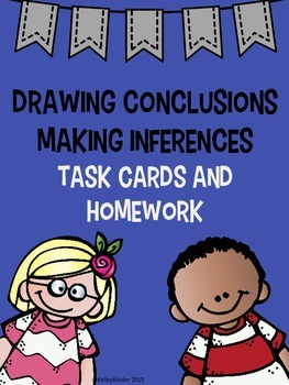Inferencing and Conclusions Task Cards and Homework