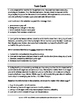 Inferencing and Drawing Conclusions Worksheet and Task Car