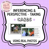 Inferencing and Perspective-Taking Cards with Real Photos for Speech Therapy