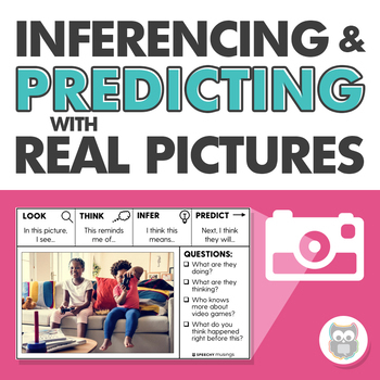 Inferencing and Predicting Using Real Pictures for Speech Therapy