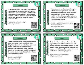 Inference QR task cards set 4  - 12 passages
