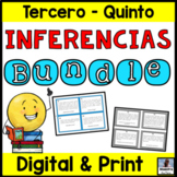 Inferencing in Spanish Bundle - Inferencias - Drawing Conclusions in Spanish