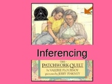 Inferencing in The Patchwork Quilt Powerpoint