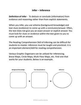 Inferencing Activities (Sports Edition 1)