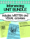 English - Inferencing practice for high school - BUNDLE! (Visual & Written)