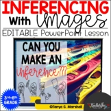 Inferencing with Images Lesson   Power Point Slide Show on
