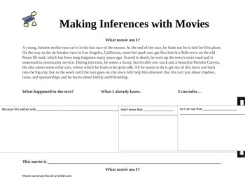 Inferencing with Movie Summaries