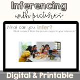 Inferencing with Pictures | Digital and Printable