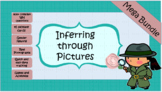 Inferencing with Pictures: WH Complex cards Mega Bundle.