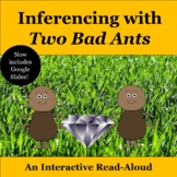 Inferencing with Two Bad Ants