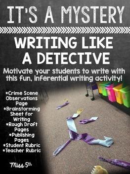 Inferential Crime Scene Writing