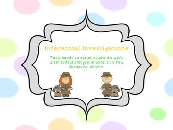 Inferential Investigations Task Cards