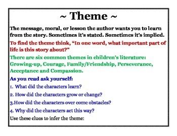 Infering Theme Poster