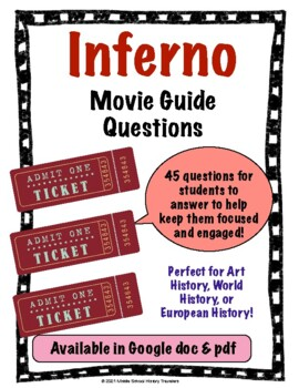 Inferno Movie Guide Questions (Dan Brown Book, Da Vinci Code Series)