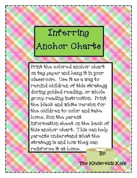 Inferring Anchor Chart