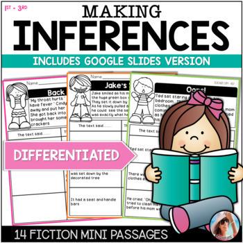 MAKING INFERENCES  Bundle Fiction / Non-Fiction Mini Passages w/Differentiation