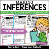 MAKING INFERENCES PASSAGES BUNDLE