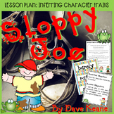 Sloppy Joe by Dave Keane Inferring Character Traits Lesson Plan