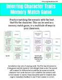 Inferring Character Traits Memory Match Activity