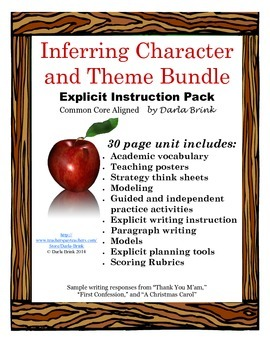 Inferring Character and Theme Bundle