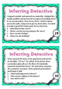 Inferring Task Cards