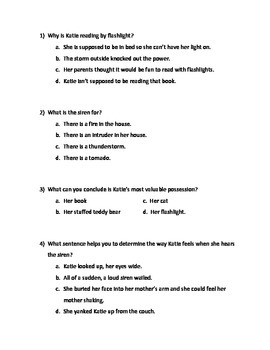 Inference Questions- Disaster Ahead