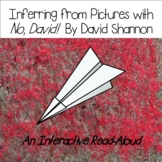 """Inferring From Pictures with """"No David"""" by David Shannon"""