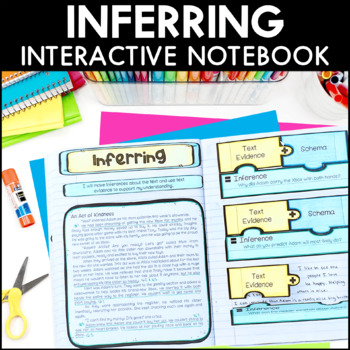 Making Inferences Interactive Notebook Pages