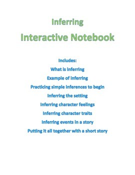 Inferring Interactive Notebook Pages