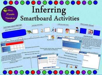 Inferring Lessons and Activities (Smartboard)