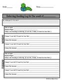 Inferring (Making Inferences) Reading Log