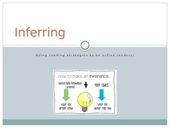 Inferring (Mini-lesson and activity)