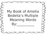 Inferring Multiple Meaning Words with Amelia Bedelia books