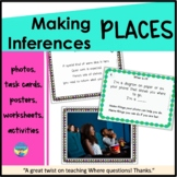 Speech Therapy Photo Activities|Inferring about Places
