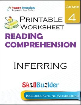 Inferring Printable Worksheet, Grade 4
