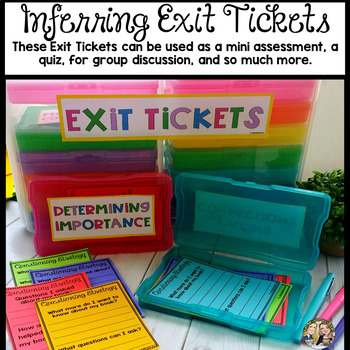 Inferring Reading Strategy Week Lesson and Practice