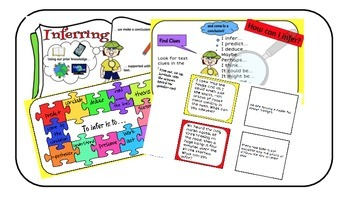 Inferring: Reading strategy pack