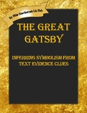 Inferring Symbolism from Text Evidence in The Great Gatsby