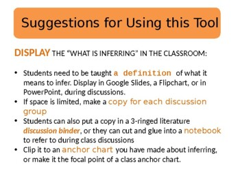 Guided Reading and Beyond Inferring Thinking Stems!