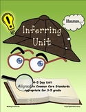 Inferring Unit, aligned to common core standards, grades 3-5