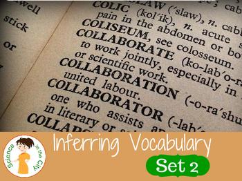 Tier 2 Vocabulary Cards Set 2