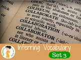 Tier 2 Vocabulary Cards Set 3