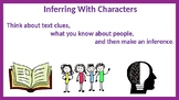 Inferring With Characters Task Cards