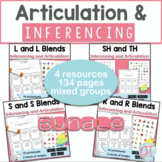 Articulation and Inferencing Bundle: SH, TH, R, S, L