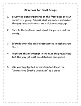 Inferring and Making Connections using Pictures/Text Reading Lesson