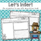 Inferring {based on book cover}