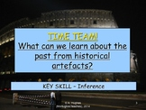 Investigating historical Artifacts. 'Time Team' inferring from evidence.