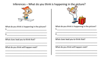Inferring from Pictures