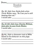 Inferring in Socks by Beverly Cleary