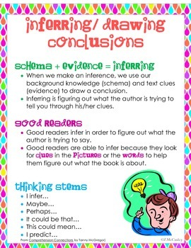 Inferring or Drawing Conclusions Unit